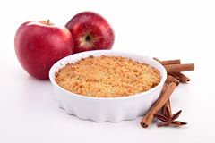 Apple crumble Stock Photos