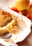 Apple crumble C Royalty Free Stock Image