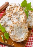 Apple crumble cookies Stock Photography