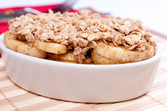 Apple crumble Stock Image