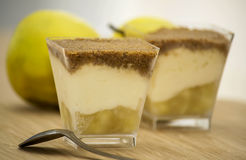 Apple crumble dessert Royalty Free Stock Photography