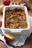 Apple crumble Royalty Free Stock Images