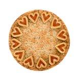 Apple Crumble Pie Stock Images