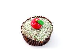 Apple cupcake Στοκ εικόνα με δικαίωμα ελεύθερης χρήσης