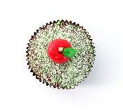 Apple cupcake Στοκ εικόνες με δικαίωμα ελεύθερης χρήσης
