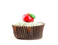 Apple cupcake Στοκ Φωτογραφία
