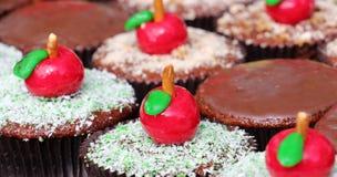 Apple cupcake Στοκ φωτογραφία με δικαίωμα ελεύθερης χρήσης