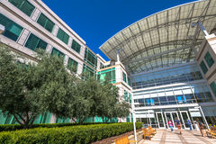 Apple Cupertino Καλιφόρνια Στοκ εικόνα με δικαίωμα ελεύθερης χρήσης