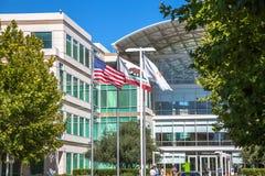 Apple Cupertino Καλιφόρνια Στοκ φωτογραφίες με δικαίωμα ελεύθερης χρήσης
