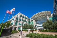 Apple Cupertino California Stock Images