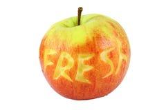 Apple cut Stock Image
