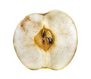 Apple in the cut stock photo