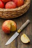 Apple Cut Stock Photos
