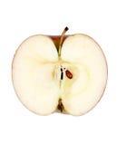 Apple cut in half Stock Photos