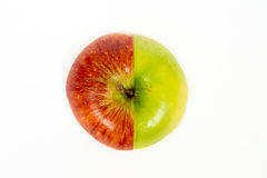 Apple cut into slices Stock Photography