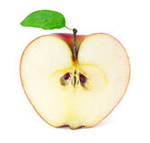 Apple in a cut Royalty Free Stock Images