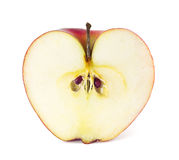 Apple in a cut Royalty Free Stock Photography
