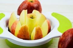 Apple cutter Stock Photos