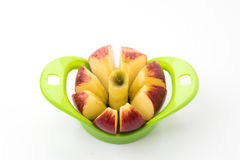 Apple cutter royalty free stock photos