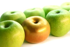 Apple d'or Photo stock