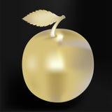Apple d'or Photographie stock libre de droits