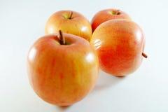 Apple da fruto, fruta artificial - es la fruta falsificada 10 Foto de archivo libre de regalías