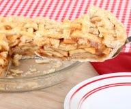 Apple da fruto rebanada de la empanada Foto de archivo libre de regalías
