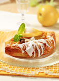 Apple Danish pastry Stock Images