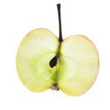 Apple dans un écorché Photographie stock libre de droits