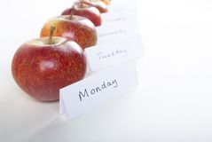 An Apple a Day Stock Photography