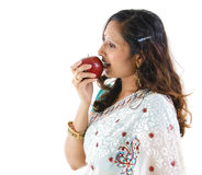 An apple a day keeps doctor away Royalty Free Stock Photo