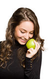 An apple a day keeps the doctor away. Stock Photo