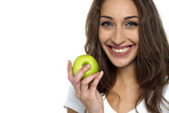 An apple a day keeps the doctor away Royalty Free Stock Photo
