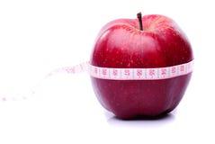 Apple de centimètre Photos libres de droits