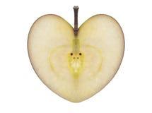 Apple de l'amour Photos libres de droits