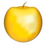 Apple de oro Imágenes de archivo libres de regalías