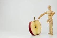 Apple de santé Photo libre de droits