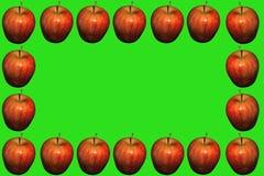Apple del telaio Immagine Stock Libera da Diritti