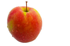 Apple. Delicious crisp red apple ready to be eaten Royalty Free Stock Photos