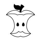 Apple desfaz-se do ícone ilustração royalty free