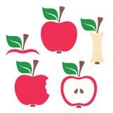 Apple design elements Royalty Free Stock Photo