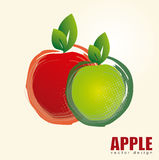 Apple design Royalty Free Stock Photography