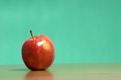 apple desk Στοκ Εικόνες