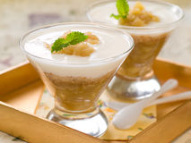 Apple dessert Stock Photo