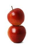 Apple deux Image libre de droits