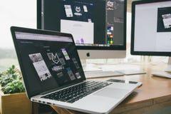 Apple, Device, Design Stock Photography