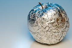 Apple di alluminio Fotografie Stock