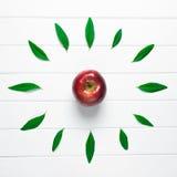 Apple di tempo Fotografia Stock