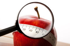 Apple Diet! Royalty Free Stock Images