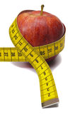 Apple and diet Stock Photography